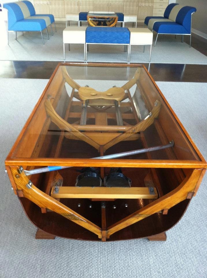 Boat Coffee Table c.1970 - 21830 / LA88120 | LoveAntiques.com |Dinghy Coffee Table